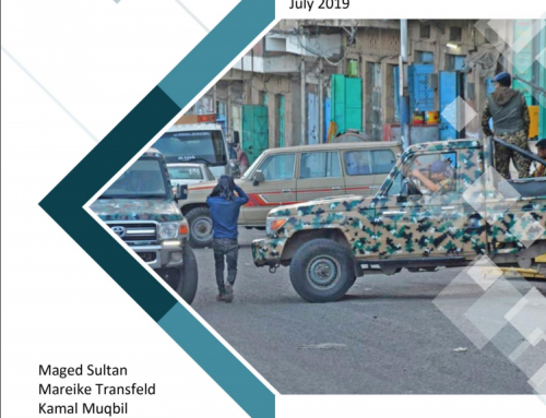 Formalizing the Informal: State and Non-State Security Providers in Government-Controlled Taiz City