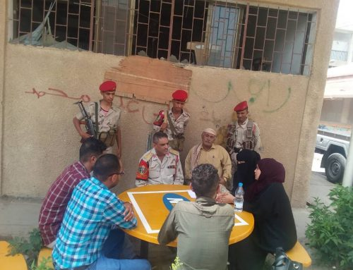 Taiz Youth Group Shares Research with Security Figures, Media