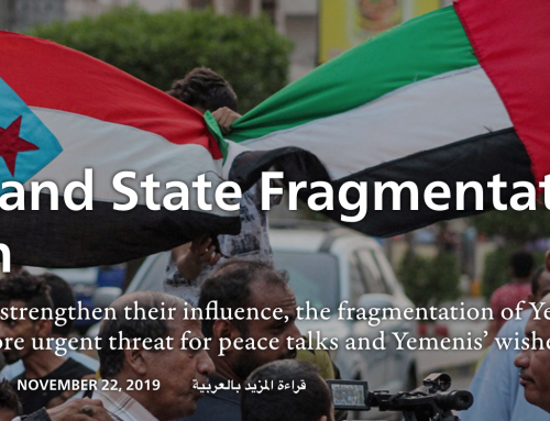 YPC Data Referenced in Sada Journal: Yemen's Fragmented State
