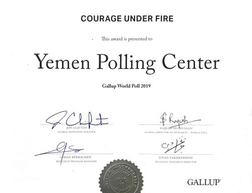 "YPC is Awarded ""Courage Under Fire Award"" by Gallup"
